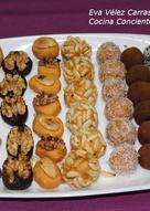 Panellets (sin azúcar) (Postre típico para el 1 Noviembre)