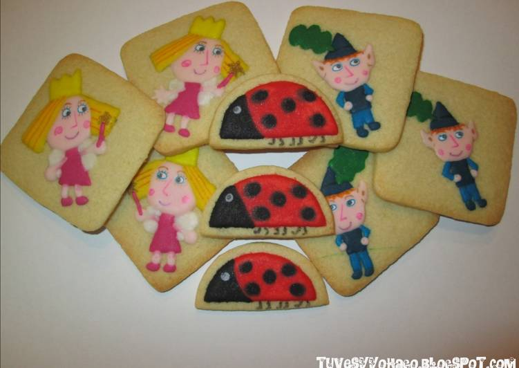 Galletas De Mantequilla Decoradas Con Glasa Real Ben Y