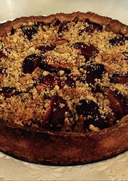 Tarta de Ciruelas - Pflaumenkuchen