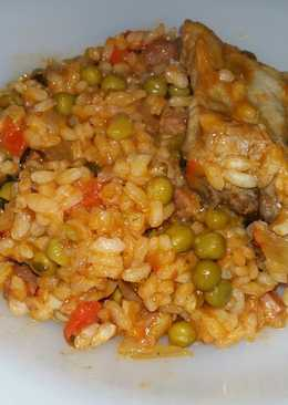 Arroz con costilla