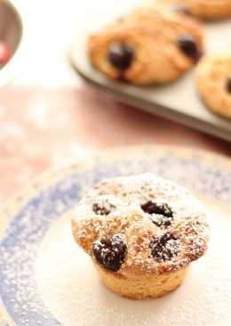 Muffins de Cerezas