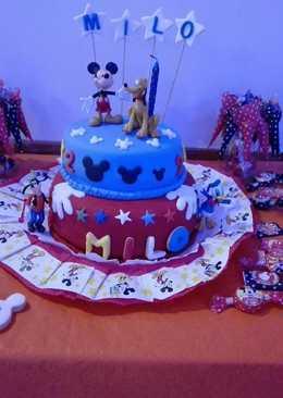 Torta cumple 2 años Milo