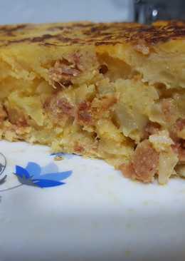 Tortilla de patata con..Chorizo!!😋🥔🍴
