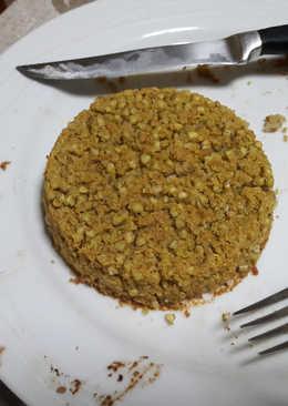 Hamburguesas horneadas de trigo sarraceno veganas