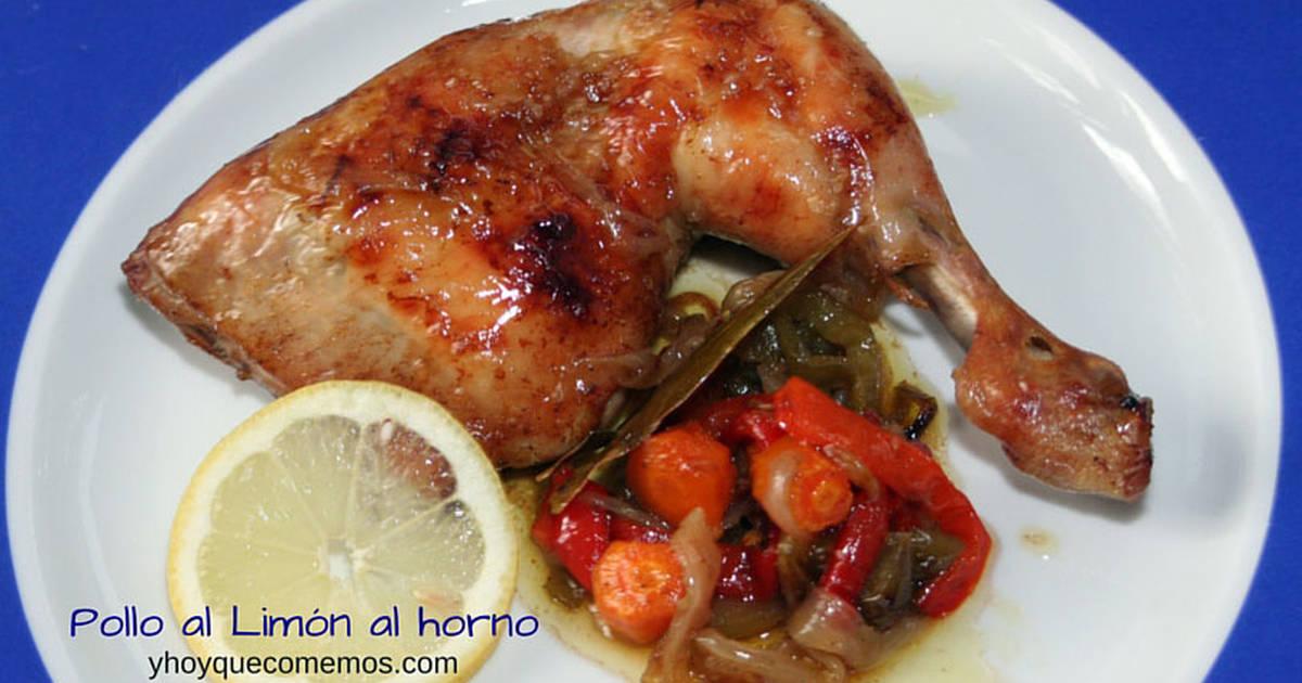 Pollo al lim n horno 138 recetas caseras cookpad - Pollo al limon isasaweis ...