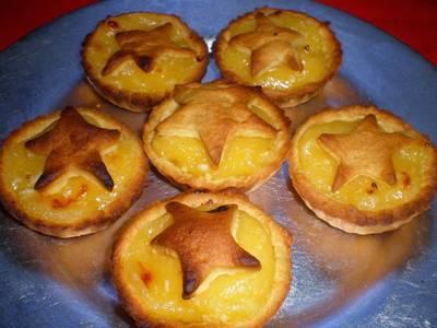 """Tartaletas de crema de limón (el tradicional """"lemon curd"""")"""