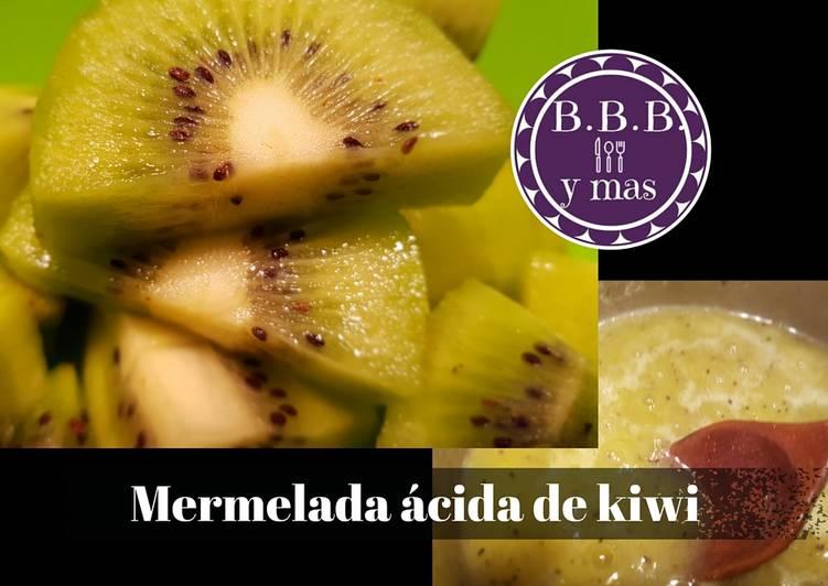 Mermelada ácida de Kiwi B.B.B