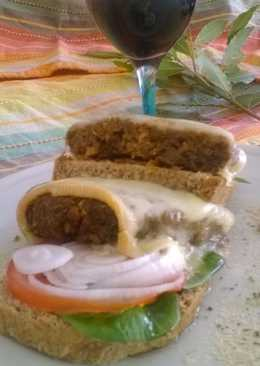 Pastel vegetariano de legumbres sin gluten