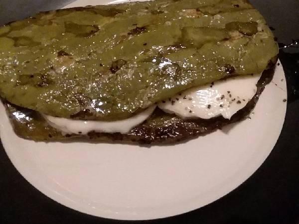 Quesadilla de nopal con queso