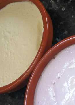 Mousse proteico de limón fit