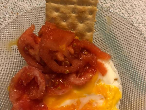 Huevos al microondas