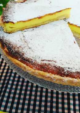 Tarta Jorgette de dos quesos al vainilla