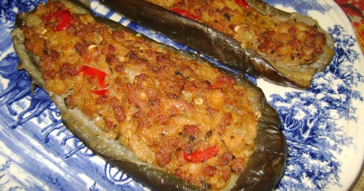 Berenjenas rellenas al horno 537 recetas caseras cookpad - Berenjenas rellenas al horno ...