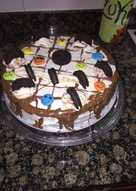 Adornos De Chocolate Para Tartas 33 Recetas Caseras Cookpad - Adornos-tarta