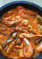 Zarzuela de pescados y marisco