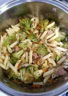 Macarrones con brócoli y atún