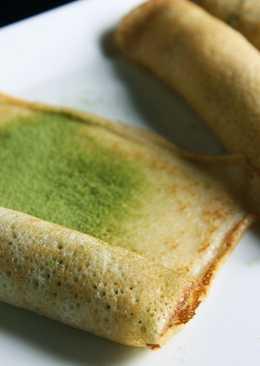 Crêpes Roll con Sweet Matcha