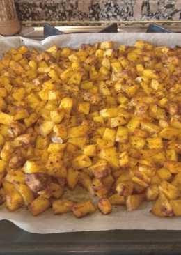Pollo con patatas al horno, rápido