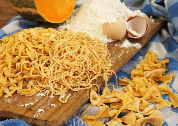 Como Cocinar Pasta Fresca | Pasta Fresca Con Calabaza Receta De La Cocina Facil De Lara Cookpad