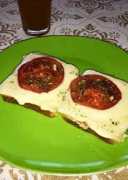 Pizzetas light con queso de cabra