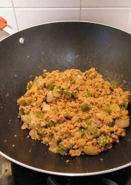 Descubriendo sabores: Wok de soja texturizada con quinoa
