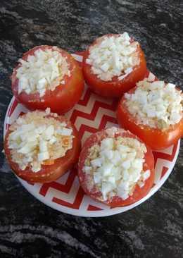 """Tomates rellenos """"Veraniegos"""""""