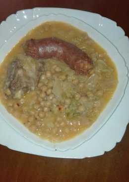Garbanzos con col 142 recetas caseras cookpad - Cocido en la olla express ...