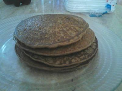 Pancakes de avena, plátano y más