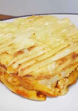 Pastel de Macarrones Boloñesa