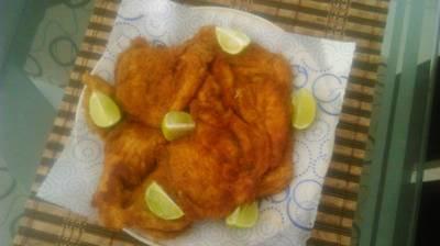 Chuleta de pollo valluna