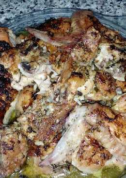 Pollo al horno al estilo mío