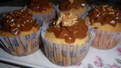 Cupcakes de vainilla (receta básica)