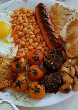 Desayuno Inglés (Full English breakfast)