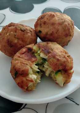 Croquetas de tofu y calabacín (veganas)