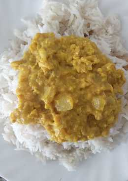 Salsa curry ligera
