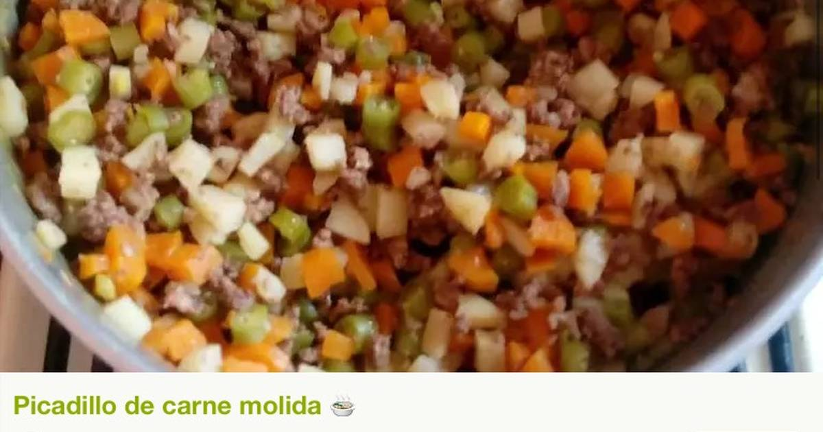 Hearty Fall Beef Picadillo | Food | Pinterest | Mexican ...