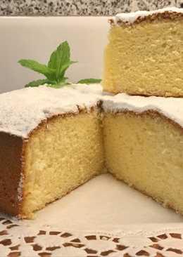 Bizcocho de limón para hacer tartas