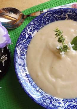 Sopa fría de nabos al aroma de nuez moscada