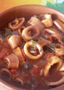 Calamares a la Riojana