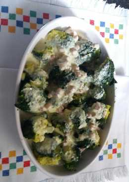 Brócoli con mahonesa