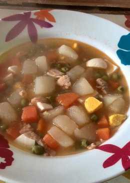 Sopa rica