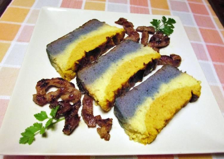 Como Cocinar Col Lombarda | Pudin De Col Lombarda Col Blanco Y Zanahorias Receta De Cocinar