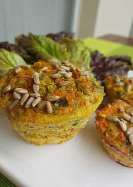 Muffins de Zanahoria y Zapallitos
