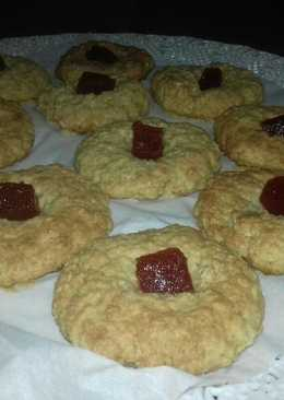 Galletitas de avena miel y membrillo