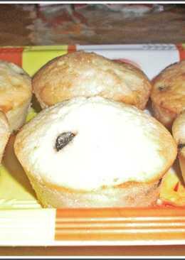 Muffins de dulce de leche y chips de chocolate