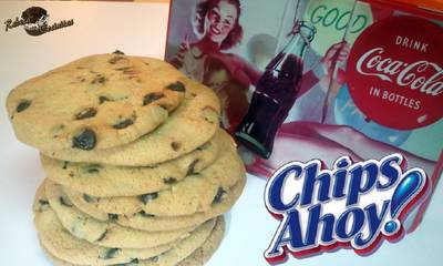 Galletas tipo Chips Ahoy! Galletas con pepitas de chocolate