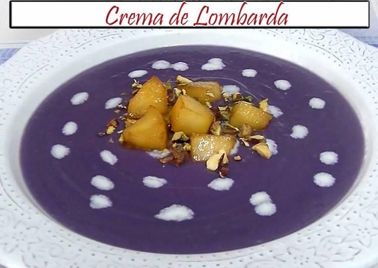 Como Cocinar Col Lombarda | Crema De Col Lombarda Receta De Cocina En Familia Cookpad