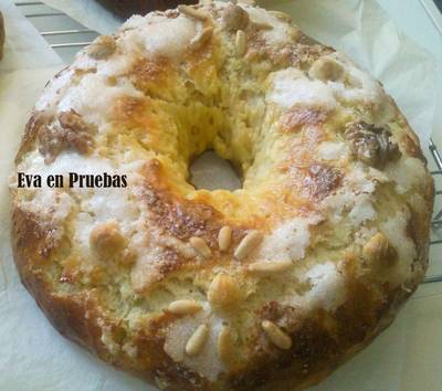 Roscón de reyes con frutos secos (S/lactosa)
