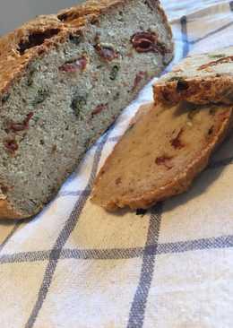 Pan rústico, sin gluten y sin lactosa