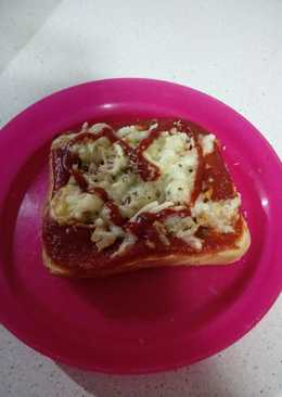 Mini pizza con pan de molde
